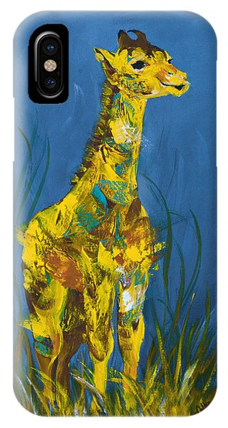 iPhone Case - Baby Giraffe  by Catherine Jeltes