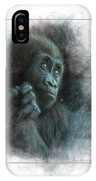 Baby Gorilla IPhone Case