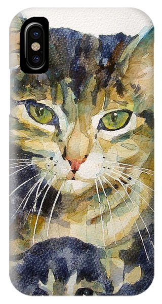 Kitten iPhone Case - Baby I Love You  by Paul Lovering
