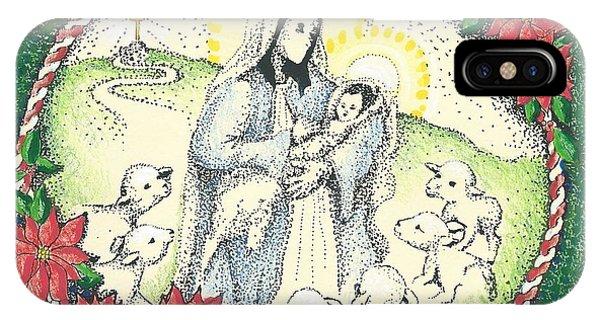 Baby Jesus In Medjugorje IPhone Case