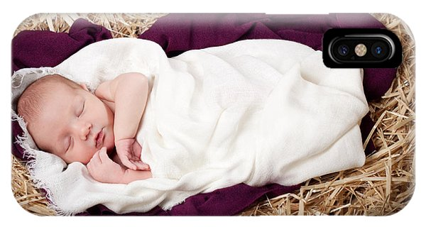 Baby Jesus Nativity IPhone Case