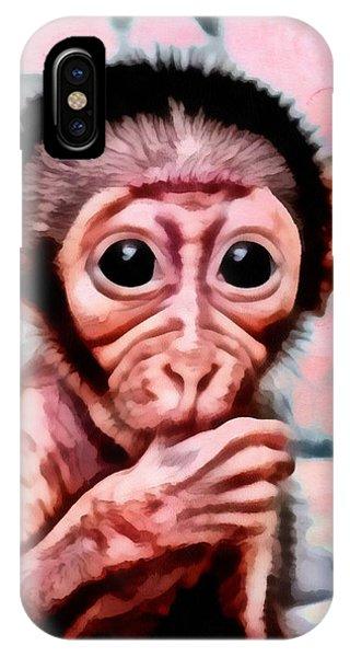 Baby Monkey Realistic IPhone Case