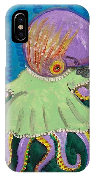 Baby Octopus In A Dress IPhone Case