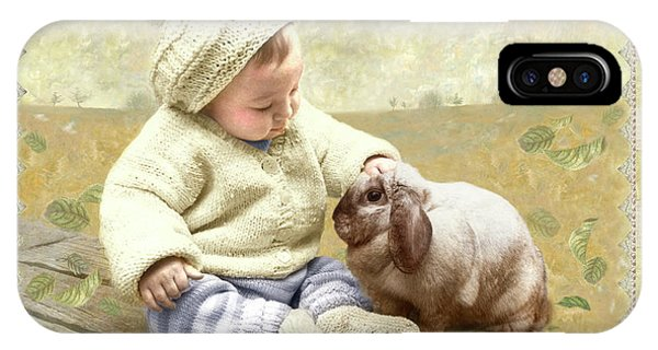 Baby Pats Bunny IPhone Case