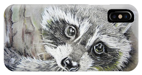 Baby Raccoon IPhone Case