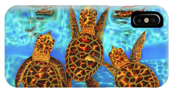 Baby Sea Turtles IPhone Case