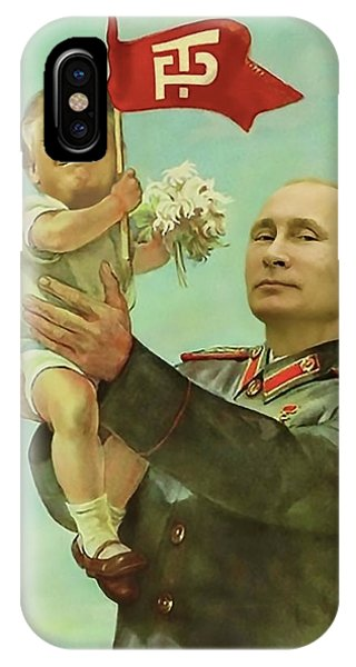 Election iPhone Case - Baby Trump Putin by All Art Is Erotic