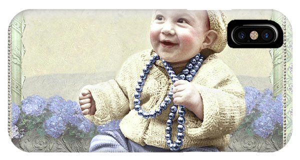 Baby Wears Beads IPhone Case