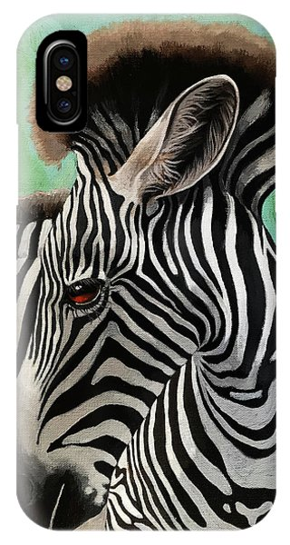 Baby Zebra IPhone Case