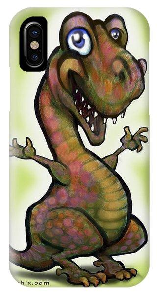 Babysaurus Rex IPhone Case