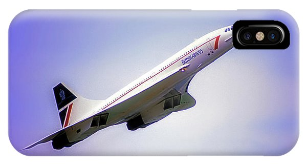 Bac Concorde  IPhone Case