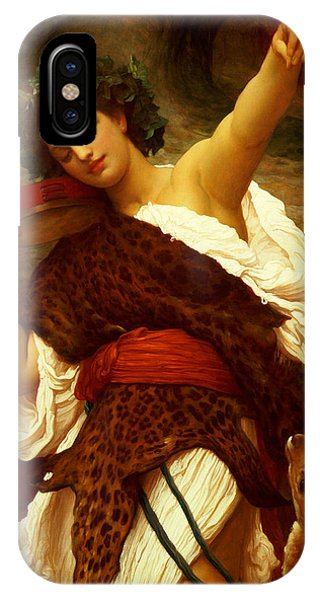 1895 iPhone Case - Bacchante by Frederic Leighton