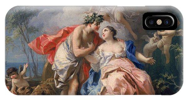 Minotaur iPhone Case - Bacchus And Ariadne by Jacopo Amigoni