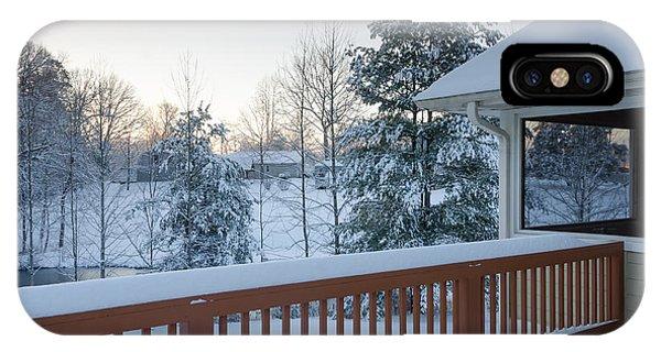 Winter Deck IPhone Case