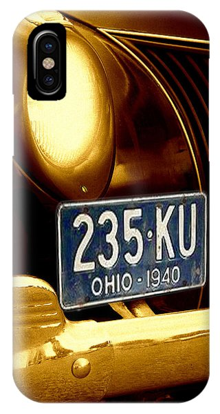 License iPhone Case - Back In The Day by Kenneth Krolikowski
