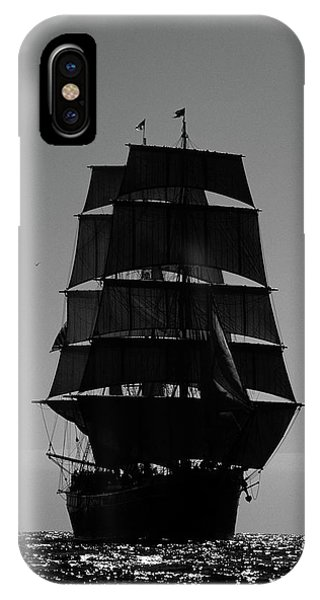 Back Lit Tall Ship IPhone Case
