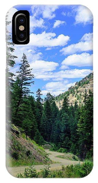 Back Roads IPhone Case