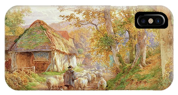 Bucolic iPhone Case - Back To The Fold by Charles James Adams