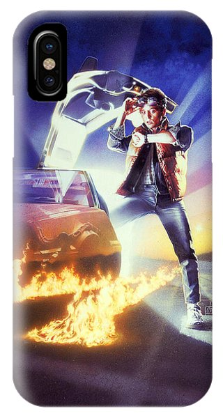 Back To The Future 1985 IPhone Case