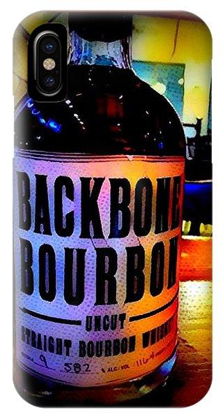 Backbone Bourbon IPhone Case