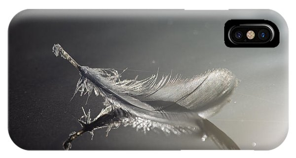 Backlit Feather IPhone Case