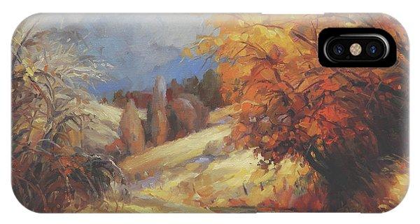 Ranch iPhone Case - Backroads by Steve Henderson