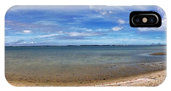 IPhone Case featuring the photograph Backwater Bay Pano by T Brian Jones