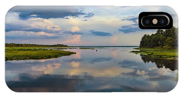Backwater Sunset IPhone Case