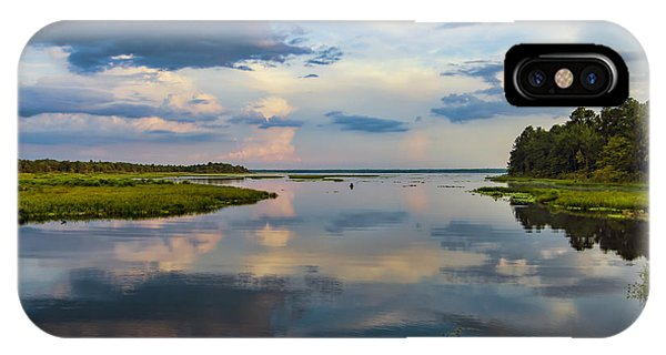 Backwater Sunset IPhone Case