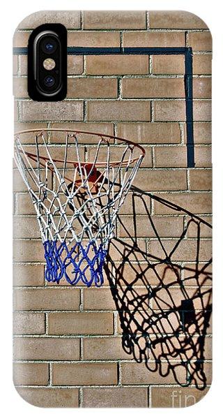 Backyard Basketball IPhone Case