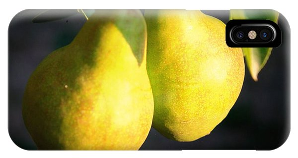 Backyard Garden Series - Two Pears IPhone Case