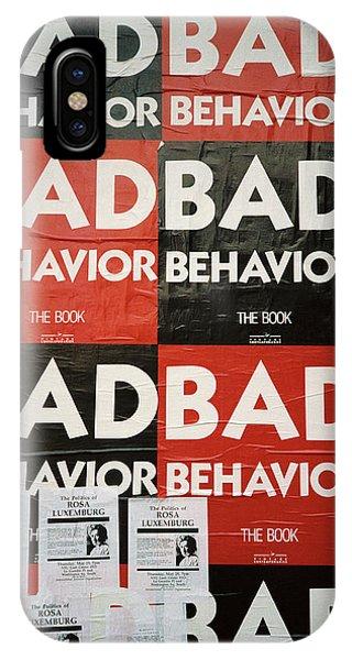 Bad Behavior IPhone Case