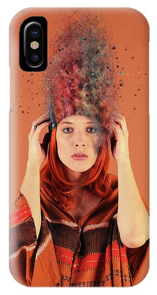 Funky iPhone Case - Bad Hair Day by Smart Aviation
