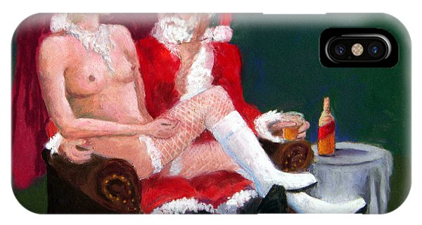 Bad Santa IPhone Case