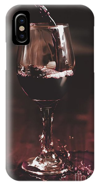 Alcoholism iPhone Case - Bad Table Service With A Pour Aim by Jorgo Photography - Wall Art Gallery