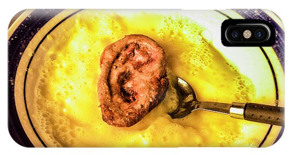 Dinner iPhone Case - Bad Taste by Jorgo Photography - Wall Art Gallery