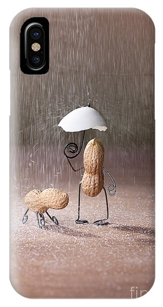 Walk iPhone Case - Bad Weather 02 by Nailia Schwarz