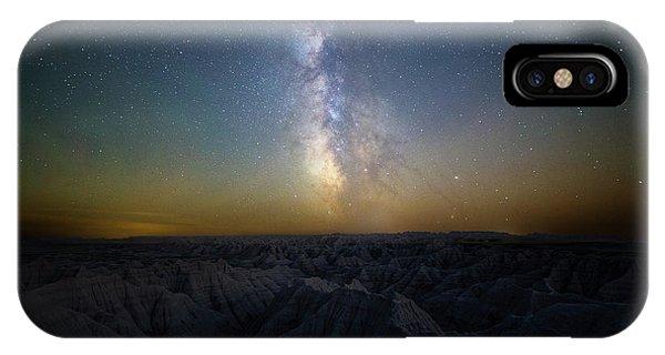 Astro iPhone Case - Badlands by Aaron J Groen
