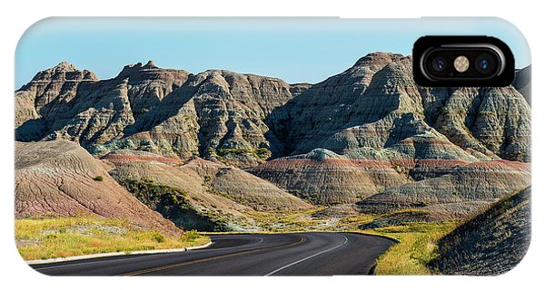 Badlands Ahead IPhone Case