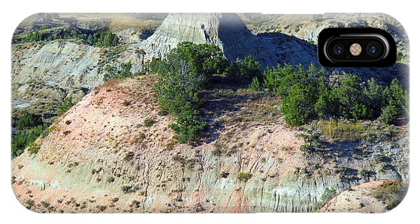 North Dakota Badlands iPhone Case - Badlands by Frank Romeo