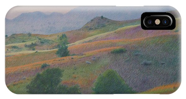 Badlands In July IPhone Case