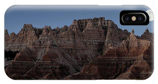 Badlands Moon Rising IPhone Case