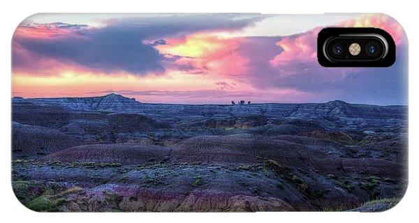 Badlands Sunrise IPhone Case