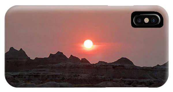 Badlands Sunset IPhone Case