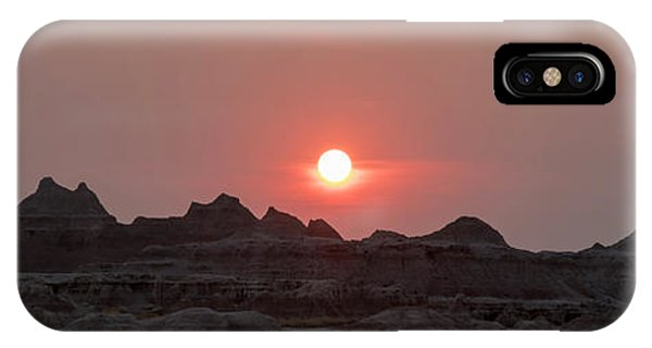 Badlands Sunset IPhone Case