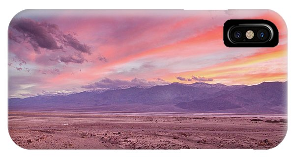 Badwater Sunset IPhone Case