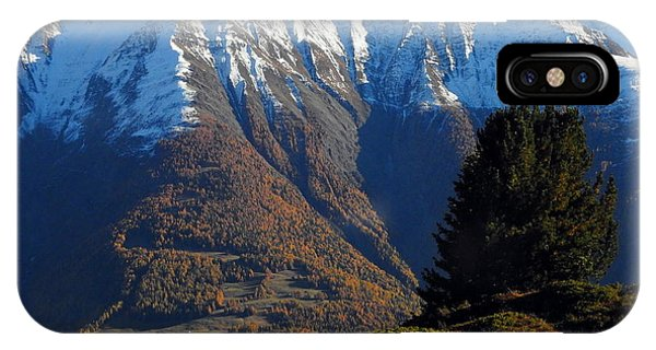 Baettlihorn In Valais, Switzerland IPhone Case