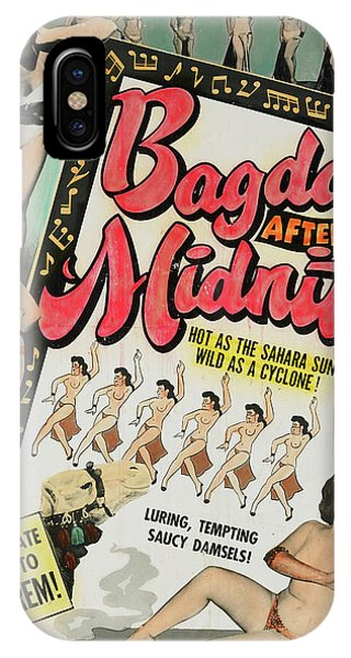 Midnite iPhone Case - Bagdad After Midnite by Burlesque Posters