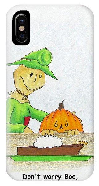 Baggs And Boo Canned Pumpkin IPhone Case