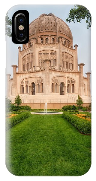 Baha'i Temple - Wilmette - Illinois - Veritcal IPhone Case